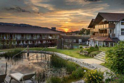 Wasserwelten im Wellnesshotel Lindenwirt Bayrischer Wald