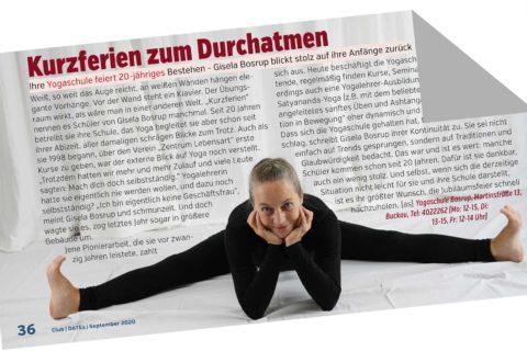 20 Jahre Yogaschule Bosrup - Artikel im Dates