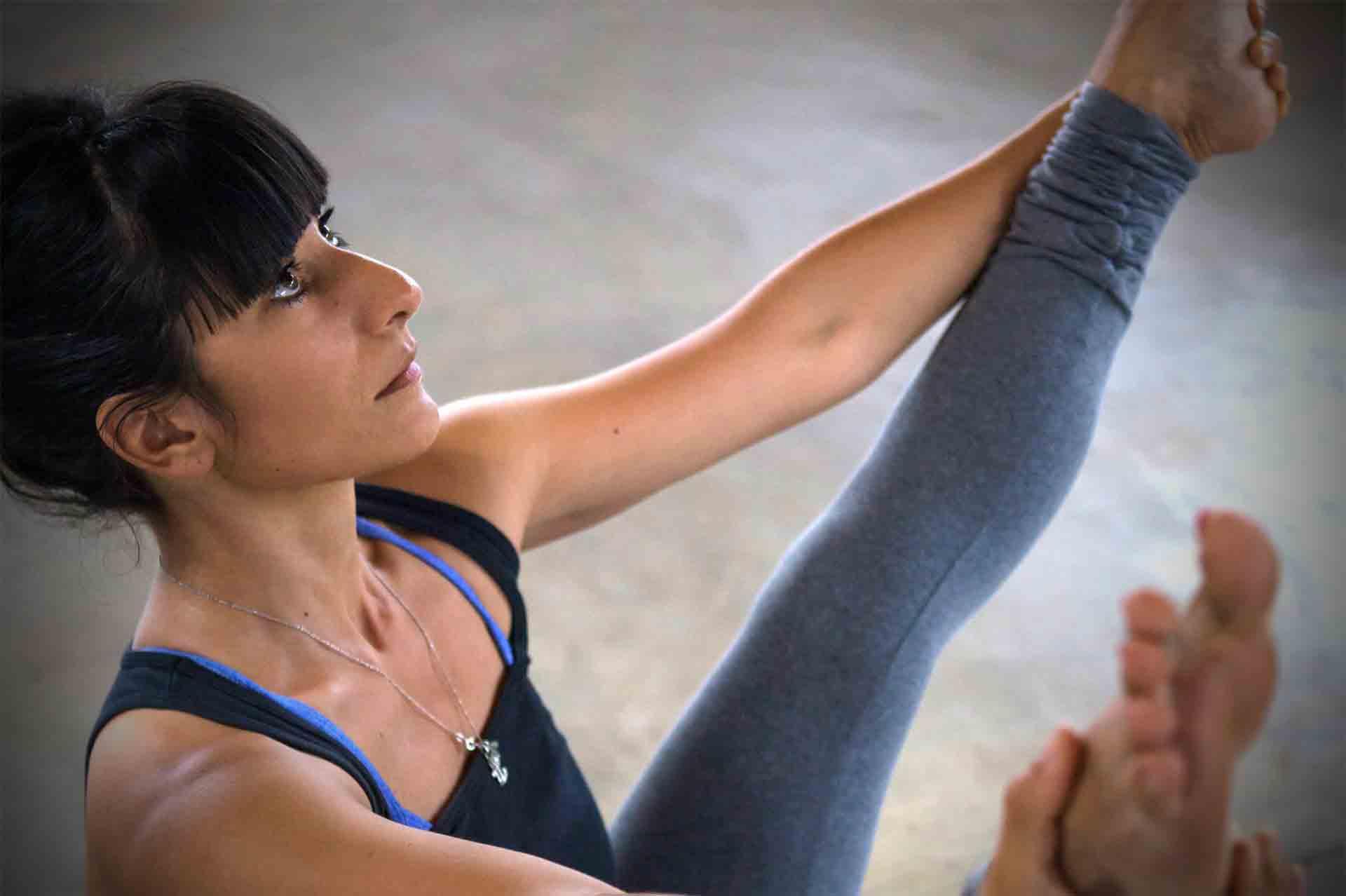 Ashtanga Yoga mit Annette Hartwig in der Yogaschule Bosrup